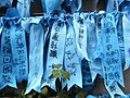HK Admiralty Tamar Square Ribbon message 061 Blue 9-Sept-2012.JPG