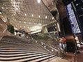 HK Central Gilman's Bazaar stairs night July 2020 SS2 01.jpg