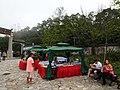 HK Ngon Ping Village 昂坪市集 mkt stall n visitors April 2016 DSC.JPG