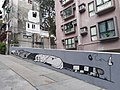 HK SW 上環 Sheung Wan 水池里 Tank Lane 塗鴉美術 Graffiti wall art 小狗和主人 puppy February 2020 SS2 04.jpg