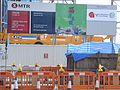 HK Sai Ying Pun Praya Kennedy Town MTR West Island Line construction site sign 2010.JPG