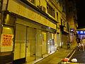 HK Sheung Wan night 上環新街 New Street shop empty 100 Queen's Road West Nov-2015 DSC.JPG