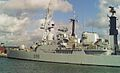 HMS Glasgow (D88) Type 42 destroyer 4,820 tonnes Royal Navy. (11662764175).jpg