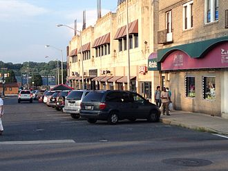 Koreatown, Philadelphia - Image: H Mart Upper Darby