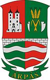 Coat of arms of Árpás