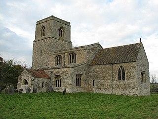 St Barbaras Church, Haceby Church in Lincolnshire, England
