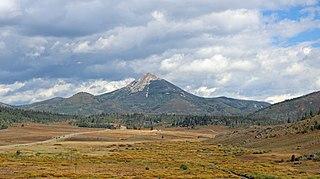 Hahns Peak mountain in Colorado, United States of America
