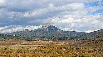 Hahns Peak - Image: Hahns Peak