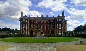 Ham House - Front of house