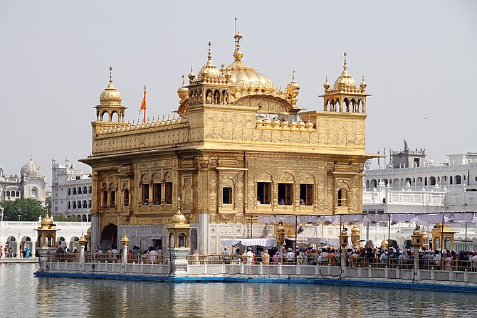 Hamandir Sahib or Darbar Sahib (also known as ...