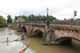Handbridge Human settlement in England