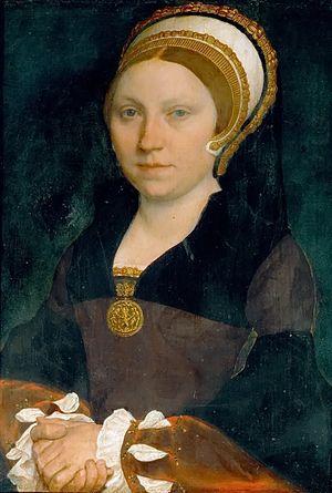 Partlet - Image: Hans Holbein d.J. Bildnis einer englischen Dame (ca.1540 43)