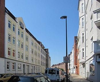 Hanssenstraße, 2012