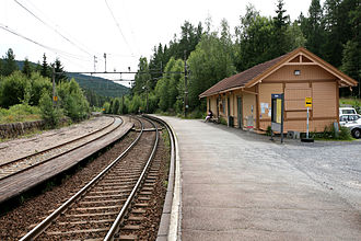 Harestua - Harestua train station