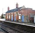 Harling Road station - the old station building by platform 2 - geograph.org.uk - 1702926.jpg