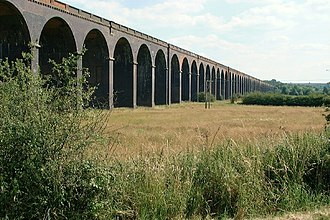 Seaton Meadows - Image: Harringworth Viaduct geograph.org.uk 1711773