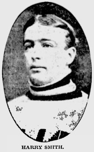 Harry Smith (ice hockey, born 1883) - Harry Smith around 1907.