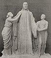 Hauptstück des Grabmonuments für die Familie Piekenbrock in Essen wurde vom Bildhauer Gustav Rutz in Düsseldorf 1911 geschaffen.jpg
