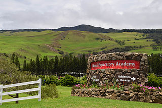 Hawaii Preparatory Academy Private, college-prep, day & boarding school in Kamuela, United States