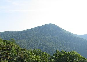 Hawksbill Mountain - Hawksbill Mountain from the north