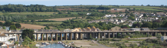 West Cornwall Railway - Hayle viaduct