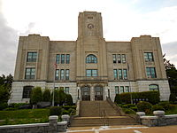 Hazelton PA Borough Hall.JPG