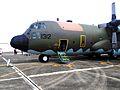 Head of ROCAF C-130H 1312 Display in Chaiyi AFB 20120811.jpg