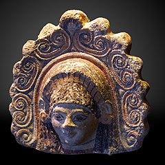 Head of a diadem-crowned deity-MAHG 022009