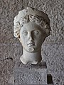 Head of a goddess (1st cent. A.D.) in the Ancient Agora Museum on 10 July 2018.jpg