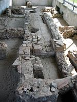 Heating system (archaeological park Xanten, Germany, 2005-04-23).jpg