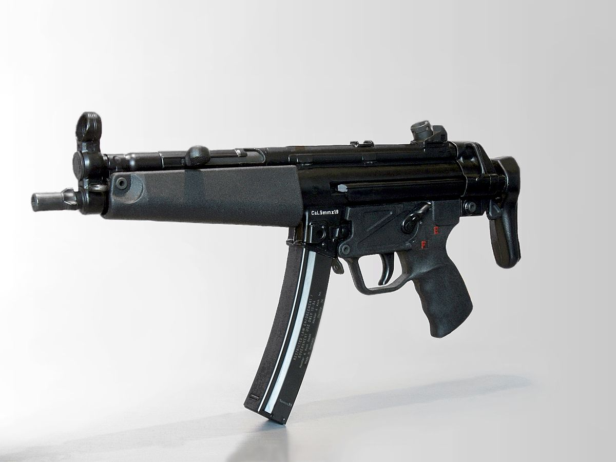 Heckler & Koch MP5 - Wikipedia