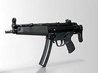 Heckler & Koch MP5 Type of *Machine pistol *Personal defense weapon (MP5K-PDW) *Semi-automatic carbine (HK94, MP5SF) *Semi-automatic pistol (SP89, SP5K, SP5)