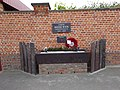 Hedd Wyn Plaque Welsh Memorial Park Ieper (Ypres) Parc Coffa'r Cymry, Gwlad Belg 20.jpg