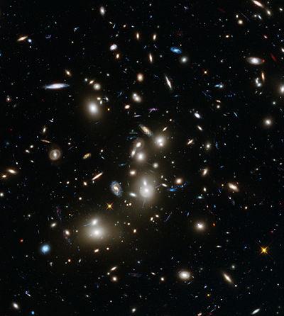 Resultado de imagen de Abell 2744: Cúmulo de Galaxias de Pandora