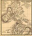 Heinrich Kiepert. Roma urbs ab Augusti Imp. tempore cum muris ab Aureliano et Honorio - Part II.jpg