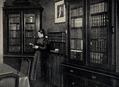Helene Lange in ihrer Bibliothek, 1899.png