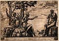 Hercules at the crossroads. Engraving. Wellcome V0048185.jpg
