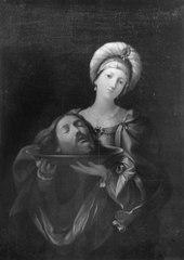 Herodias med Johannes huvud