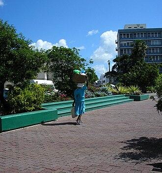 Barbadian National Heroes - Image: Heroes square