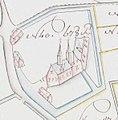 Het Baerelhof of Barelsteyn, 1787. (Caerte ofte Generaelen Metingh A. Vertongen, 20-04-1787).jpg