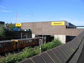Heworth Interchange - Image: Heworth Metro geograph.org.uk 201809