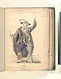 Hidalgo. Curé des Dolores dans son costume de guerre, proclammant l'independénce du Mexique (fusille le 1er août, 1811) d'après un tableau original) (NYPL b14896507-76692).jpg