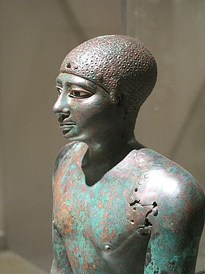 Pepi I Meryre - The smaller copper statue of Merenre or Pepi I