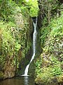 Hidden waterfall Second Inchna Burn - geograph.org.uk - 1347794.jpg