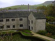 Higher Mill Museum from the Viaduct - geograph.org.uk - 1550646.jpg