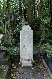Highgate Cemetery - East - Hercules Bellville 01.jpg
