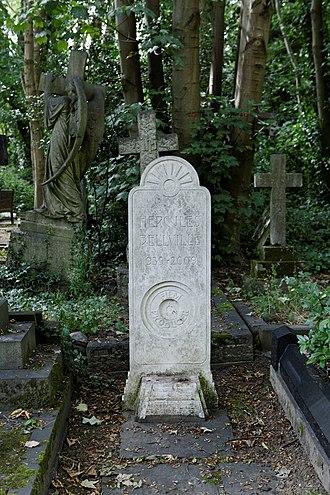 Hercules Bellville - Image: Highgate Cemetery East Hercules Bellville 01
