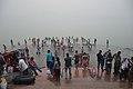 Hindu Devotees Taking Holy Dip In Ganga - Makar Sankranti Observance - Ramkrishnapur Ghat - Howrah 2018-01-14 6425.JPG