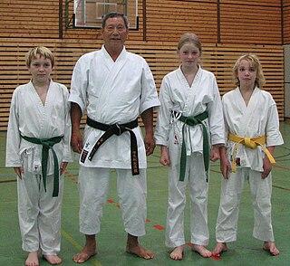 Hiroshi Shirai Japanese karateka