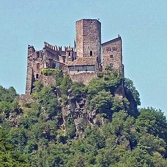 Hocheppan Castle - Image: Hocheppan von Schloss Korb